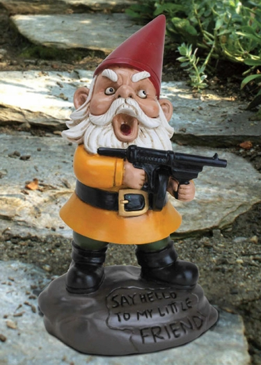 Scarface Gnome - Click to enlarge