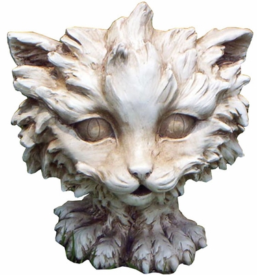 Scruffy Cat Planter - Click to enlarge