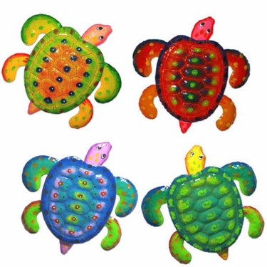 Sea Turtle Decor Set Of 4