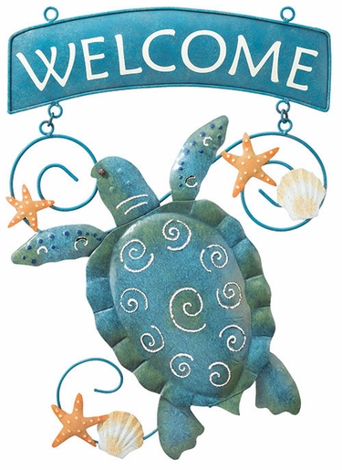 Sea Turtle Welcome Sign - Click to enlarge