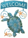 Sea Turtle Welcome Sign