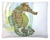 Seahorse in Marsh Outdoor Pillow