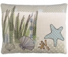 Seashells in Marsh Outdoor Pillow