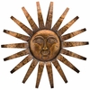 "34"" Sedona Sun Wall Decor"