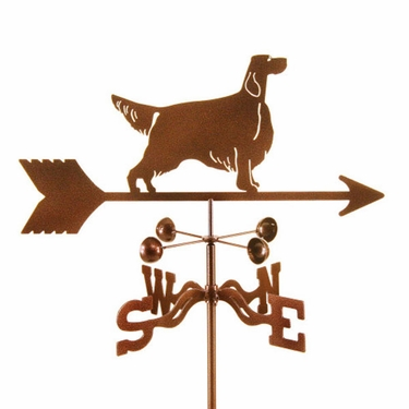 Setter Dog Weathervane - Click to enlarge