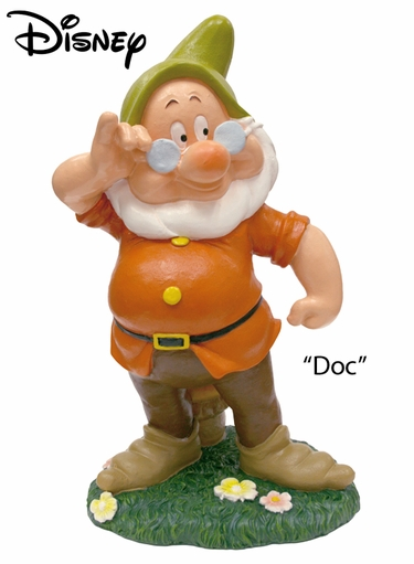 Seven Dwarfs Doc - Disney Garden Statue - Click to enlarge