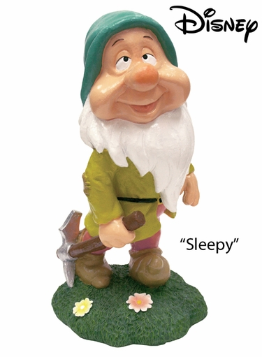 Seven Dwarfs Sleepy - Disney Garden Statue - Click to enlarge