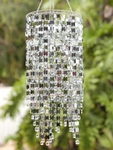 Shimmer Falls Wind Chime - Silver