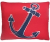 Ship Anchor Outdoor Pillow