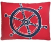Ship Wheel Outdoor Pillow