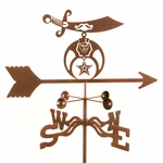 Shriners Weathervane