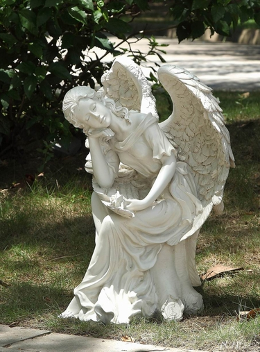 Sleeping Angel Statue - Click to enlarge