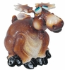 Small Moose Phatzo Statue (Set of 2)