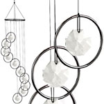 Smoked Rings Spiral Suncatcher