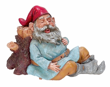 Snoring Grimmbel Gnome - Click to enlarge