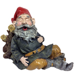 Snoring Merlin Gnome - Motion Activated