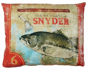 Snyder Fish Outdoor Pillow - Click to enlarge