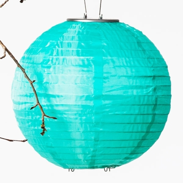 Soji Solar Lantern - Mint - Click to enlarge