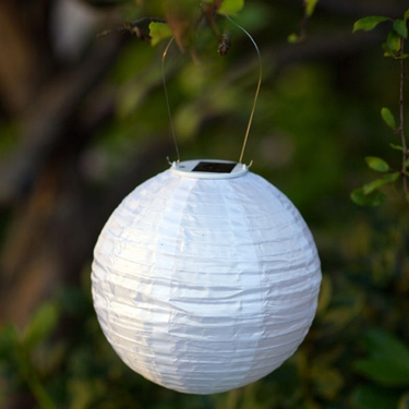 Soji Solar Lantern - White - Click to enlarge