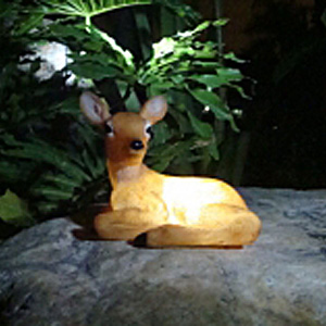 Solar Deer Light - Click to enlarge