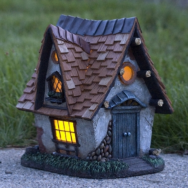 Solar Fairy Cottage - Click to enlarge