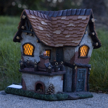 Solar Fairy Tudor Home - Click to enlarge