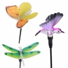 Solar Fiber-Optic Friends (Set of 3)