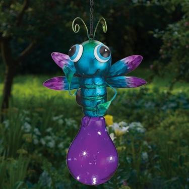Solar Firefly Lantern - Purple - Click to enlarge