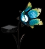 Solar Flower Spot Light - Blue