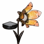 Solar Flower Spot Light - Yellow