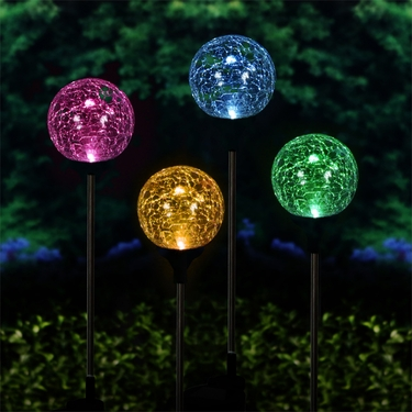 Solar Garden Globes   Color Changing (Set Of 2) Only $47.98 At Garden Fun