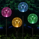 Solar Garden Globes - Color-Changing (Set of 2)