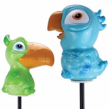 Solar Jungle Bird Stakes (Set of 2) - Click to enlarge