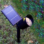 Solar Laser Christmas Lights