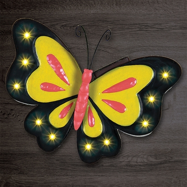 Solar Marquee Butterfly Wall Decor - Click to enlarge