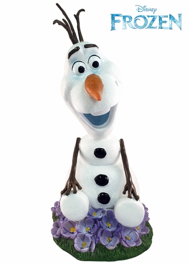 Solar Olaf Garden Statue - Disney's Frozen - Click to enlarge
