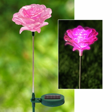 Solar Rose Flowers  (Set of 3) - Click to enlarge