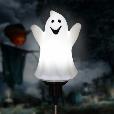 Solar Rotating Ghost Stake - Click to enlarge