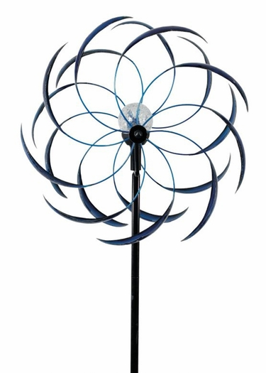 Solar Sedona Wind Spinner - Blue - Click to enlarge