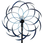 Solar Sedona Wind Spinner - Blue