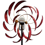 Solar Sedona Wind Spinner - Red