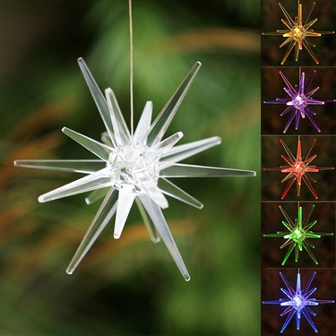 Solar Star Light W Color Changing Leds