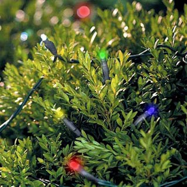 Solar String Lights - 100 LED Multicolor - Click to enlarge