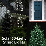 Solar String Lights - 50 LED White