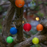 Solar String Lights - Mini Colorful Lanterns