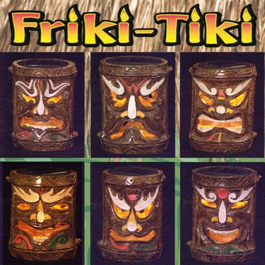 Solar Tiki Stakes - Asst. Tribal (Set of 6) - Click to enlarge