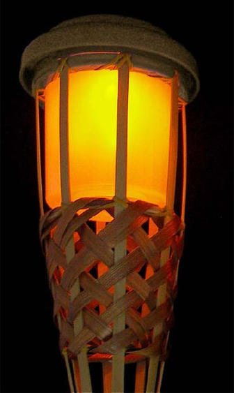 Solar Tiki Torch Light - Click to enlarge