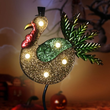 Solar Turkey Marquee Garden Stake - Click to enlarge