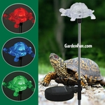 Solar Turtle Light Garden Stake