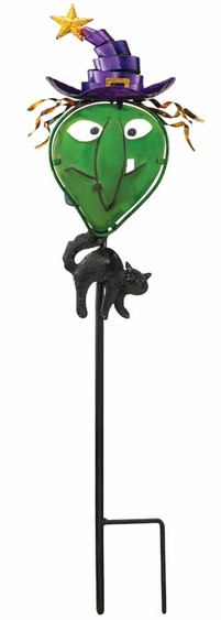 Solar Witch Garden Stake - Click to enlarge